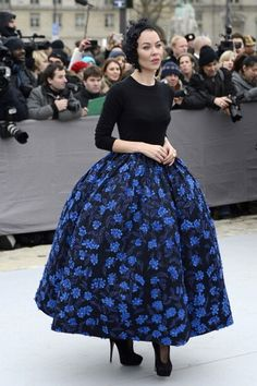 Ulyana Sergeenko em Christian Dior