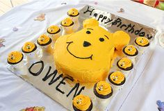 Winnie the Pooh party: Owen is 1!