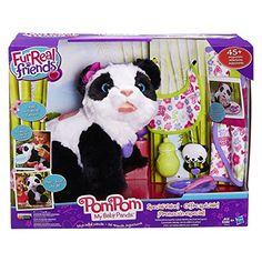 Fur Real Friends Pom Pom My Baby Panda Deluxe Set Panda Pet Plush ** Click here for more details @