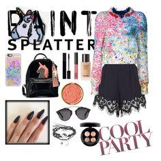 Designer Clothes, Shoes & Bags for Women Monique Lhuillier, Milani, Nars Cosmetics, Casetify, Christian Dior, Mac, Gucci, Shoe Bag, Polyvore