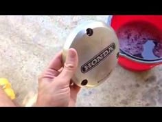 how to polish aluminum engine covers - YouTube