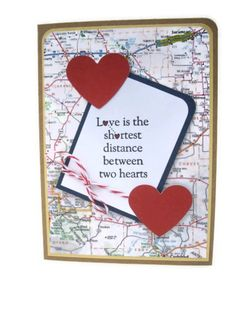 Id rather be kissing you greeting card long distance boyfriend love is the shortest distance between two hearts m4hsunfo