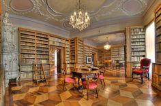 Biblioteca della casa natale di Antonio Rosmini,Rovereto.(Italy)
