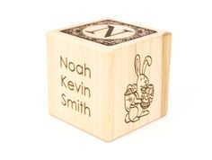 Personalized infant memorial gift stillborn born by koobik on etsy personalized easter baby block easter gift babys first easter wooden baby block easter decoration adoption nursery negle Gallery