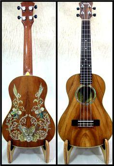 Acacia koa tenor ukulele by Alulu. Beautiful.