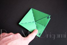 Origami Christmas Tree Tutorial | Origami Christmas Tree, Christmas Ornaments, Wish You Luck, Origami Instructions, Snowflakes, Projects To Try, Fun, Trees, Model