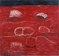 PHILIP GUSTON The Light, 1975 Oil on canvas 66 × 69 in 167.6 × 175.3 cm