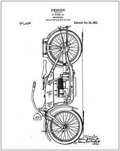 Transportation, Vintage Internet Patent Reproductions