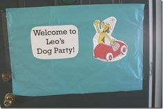 Go, Dog, Go birthday party
