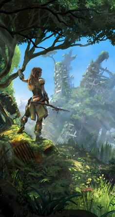 Games wallpapers | Horizon Zero Dawn Game HD Wallpapers http://www.fabuloussavers.com/Horizon_Zero_Dawn_Game_Wallpapers_freecomputerdesktopwallpaper.shtml