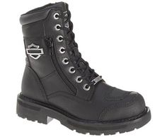 Harley-Davidson footwear women's performance Sydney lace-up motorcycle boots