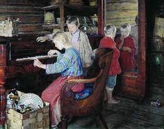 Forno do Céu: NIKOLAY BOGDANOV-BELSKY- MAGNÍFICO - RUSSO - PINTURAS