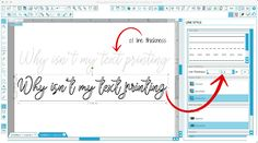 Why Isn't Text Printing from Silhouette Studio? (Troubleshooting Tutorial) ~ Silhouette School