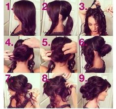 Amazing Up do hair style,Pls try to style it! :) #blwhairextensions #updos