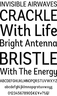 Andes Condensed #font