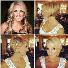 11 Best Vorher Nachher Frisuren Images Short Hair Up Before After