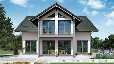 Farmhouse Style Homes Exterior Design Ideas - New Decoration Cottage Floor Plans, House Plans, Bungalow Extensions, Farm Plans, Floor To Ceiling Windows, Exterior Design, Beautiful Homes, New Homes, House Styles