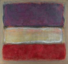 Mark Rothko's Untitled (Purple, White and Red), 1953