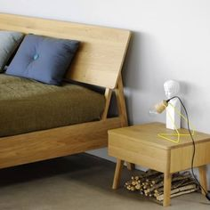 ****quick ship 7-10 days****True to its name, the Oak Air Bed features a slim, Scandinavian style with tapered legs that give the bed the illusion of floating. The clean-lined design is accentuated by an open headboard, providing comfort while maintaining a visually light presence. The bed is crafted with solid oak and finished with a matte white oil for long-lasting beauty and durability. A corresponding nightstand (pictured) is also available.This product is made using sustainable and…