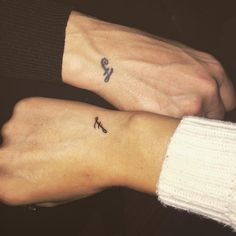 small tattoo for brother and sister sibling tattoos