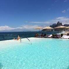 hotel fasano rio foto piscina