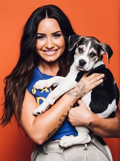 Demi Lovato photographed by Taylor Miller for BuzzFeed