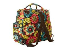 Vera Bradley has some diaper bag designs that really stand out. I'm a fan. Diaper Bags, Vera Bradley Backpack, Backpacks, Fan, Style, Nappy Bags, Swag, Mothers Bag, Backpack
