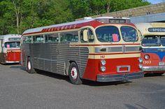 Trailways 142 Richfield Bus Company Aerocoach