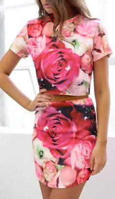 Flower fashion chic/karen cox....Esther