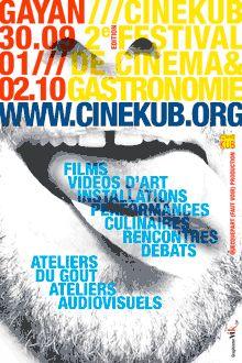 immagine coordinata per Festival Cinekub grafica di Maria Vittoria Gozio