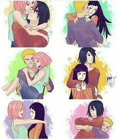 Which ship is your favourite? Ours is NaruHina and NaruSasu! #anime…