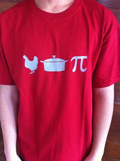 Chicken Pot Pi TShirt by FeathersOnTheGround on Etsy, $18.00