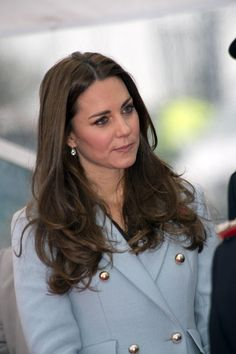 Catherine, Duchess of Cambridge and Prince William, Duke of Cambridge (not pictured) visit to the  Pembroke Refinery on November 8, 2014 in Pembroke, Wales.