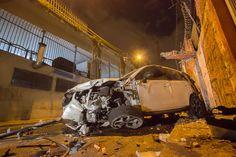 São Paulo: #Carro despenca de viaduto e motorista fica ferida no Brás, região central de SP