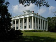 """Greenwood Plantation-St. Francisville, LA.  1830.  This was the home of the infamous Justin LaMotte, """"Resolute"""", in the mini-series """"North and South""""."""