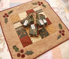 Milk and Cookies Table Mat