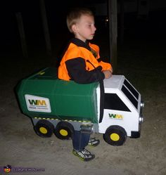 John: My son wanted to be a garbage truck. So we set off to create it. I browsed the web and came across http://bixdog7.blogspot.com/2007/10/garbage-truck-costume-how-to.html. That was the start and had some...