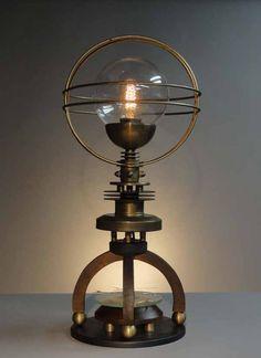 Steampunk Inspired Lighting by Art Donovan