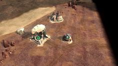 first Ordos structures ingame