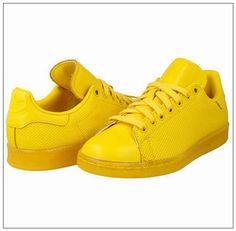 17369f5f0e Klasické Boty Adidas Pánské Stan Smith Adicolor v Žluté Odtok