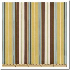 Fabrics - Waverly Terrace Stripe