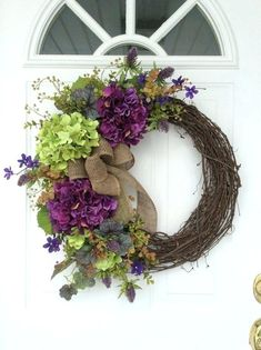 front door wreath ideas for spring spring wreaths hydrangea wreath front door by front door wreath ideas for spring