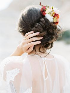 Romantic Bridal Bun