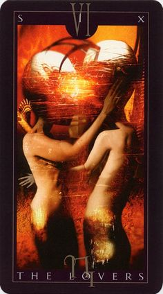 Inquizitor Tarot Cards Major Arcana, The Lovers Tarot Card, Dave Mckean, Fortune Telling Cards, Tarot Readers, Comic Book Artists, Tarot Decks, Comic Art, Artwork