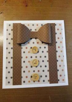 Birthday Card Diy For Men Father 26 Best Ideas - Basteln Cards For Men Handmade, Diy For Men, Handmade Birthday Cards, Diy Birthday, Greeting Cards Handmade, Mens Birthday Cards, Fathers Day Cards Handmade, Masculine Birthday Cards, Masculine Cards