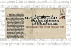 1456 GLC Gutenberg B42 PRO by GLC Foundry on @creativemarket