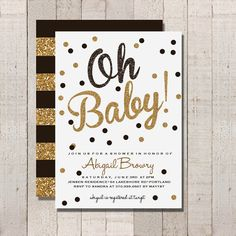 kate spade baby shower on pinterest gold confetti gold baby showers