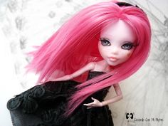 "Custom Monster High Draculaura ""Bimba"" by Olga"