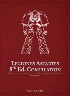 El Descanso del Escriba: Legiones Astartes para 8ª (Fan-made)