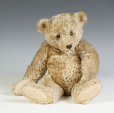 Vintage Steiff Mohair Teddy Bear, SOLD $6,000